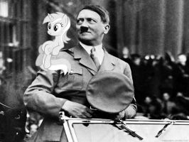 Hitler and his little Lyra by ShitAllOverHumanity