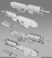 Shinden Rifle 2 by MeganeRid