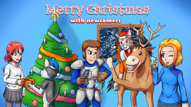 Christmas with newcomers by G-Brothers