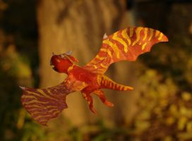 Autumn dragon by ALIENmantis