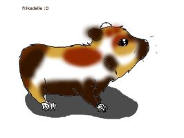 my guenia pig frikadelle by wolfwrathgirl