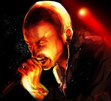 Chester Bennington by soak1111