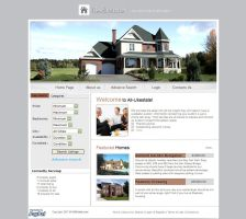 Real Estate Website Template - RE004 by phyllis-L