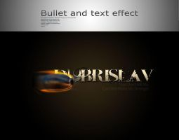 Bullet and Text by Cuca24