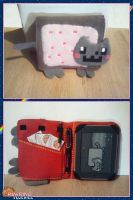 Nyan Cat Nook Cover by RawringCrafts