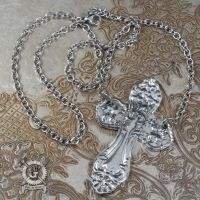 Spoon Cross Necklace by Doctor-Gus