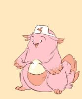 Chansey Chansey by wanlingnic