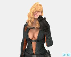 Rachael in Blender Cycles by CharonA101