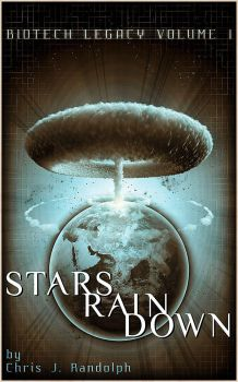 Stars Rain Down - Book Cover by Spectre-7