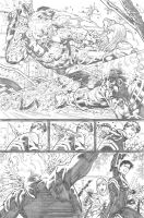 Supergirl #25 page 12 by PauloSiqueira