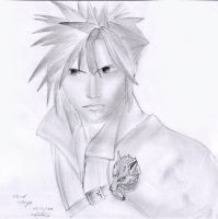 Cloud Strife by Ricki-nam