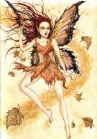 Faerie of the Autumn by nellmckellar
