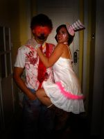 halloween party by Wangler