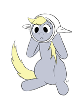 Derpy Hooves - Theapot by FiddleArts