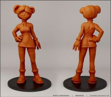 Minnie Cheburashka by monkibase
