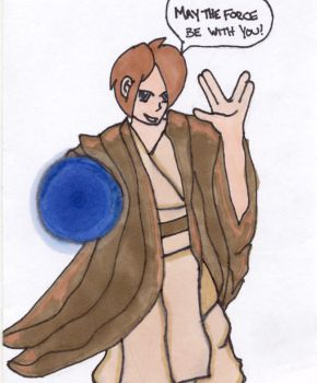 Star Wars: My Dad as a Jedi by JustShroomy