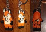 LEGO Custom minifigure - Mikey Fox Fursuit by Stitchfan