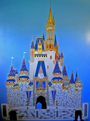 Cinderella Castle Finished by AreteEirene