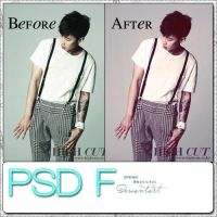 PSD F by MonicaZC