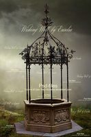 Wishing Well Png-files by Euselia
