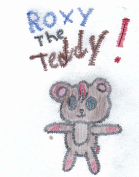 Roxy the teddy by BlueFang64