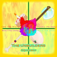 The unbuilders CD cover (graphic design project) by SnowCatis12