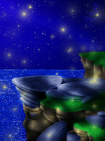 .:Seabound Fireflies:. (BG ONLY) by Treetail