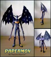 Devimon A4 Lined by PapercraftKing