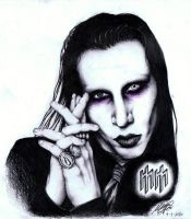 Marilyn Manson by maga-a7x