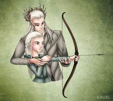 Archery lessons by Kiruel