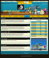 Planet mule design main page by repiano