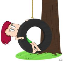 Tire Swing by NikoAnesti