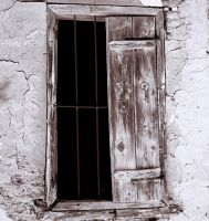 Old Window, Fikardou by alimuse