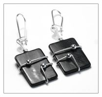 Electronic Earrings by AnnAntonina