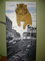 Paysage Urbain avec Tigre by maxetle1212