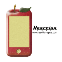 RA - apple sticker for Barcamp by ElizabethBarndollar