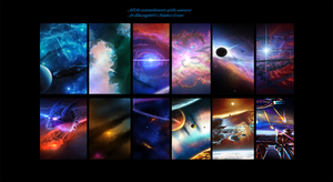 Calendar - All the astonishments of the universe by Bluenight01