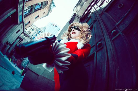 Harley Quinn in the Gotham City by YutarnaThetys