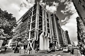 Centre G Pompidou - Paris XII by ThomasHabets