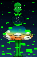 Homestuck Doodle - Muse of Space Alt by abbic314