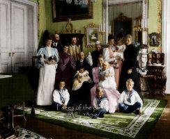 Imperial family in Denmark by VelkokneznaMaria