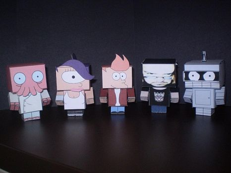 Futurama Cubee's pic by CyberDrone