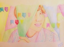 Taemin Lucky Star by Pulimcartoon