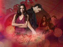 our time - elena and stefan by lovewillbiteyou