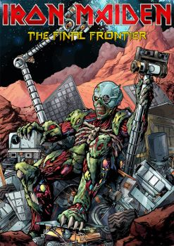 Iron Maiden - The Final Frontier II by croatian-crusader