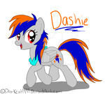 Its Dashie by darkcat1999