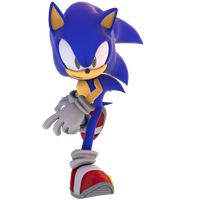 Finally - Sonic Cycle Render by criselerizo