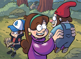 Mabel and the Gnome by CraigArndt