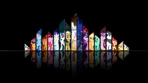 Jagged Edges Wallpaper by RDbrony16