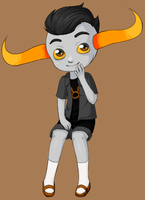 ShortsStuck: Tavros by mewchild